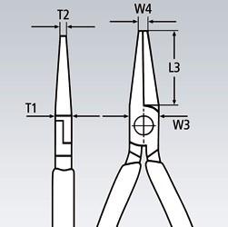 Storkenæbstang 200 mm