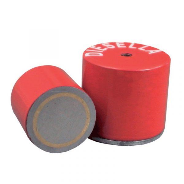 Pot magnet med gevind