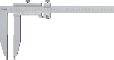 Værkstedskydelære 0-1000 mm
