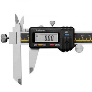 Digital skydelære med forskydelige kæber 0-200 mm