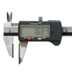 Digital ridse skydelære 0-150 mm