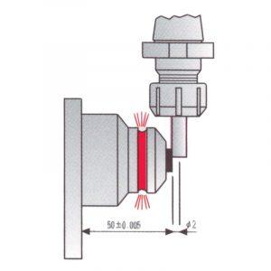 Toolsetter optisk med magnet 50 mm.