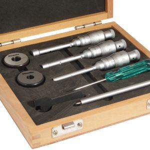 Indv. 3-Punkt Mikrometer, 6-12 mm (inkl. kontrolringe)