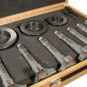 Indv. 3-Punkt Mikrometer, 40-100 mm (inkl. kontrolringe)