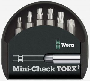 Wera Mini-Check Torx Bitssæt