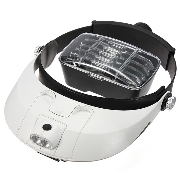 Pandelup med vipbar LED lys