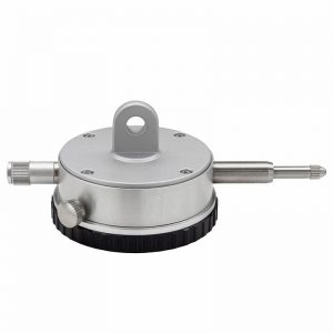 Måleur 0-10 x 0,01 mm med justerbare tolerancemærker og dæksel med øje