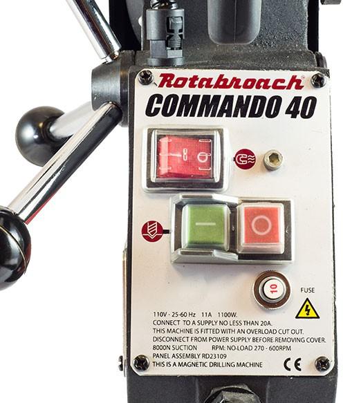 Commando 40 Kærneboremaskine 1100W