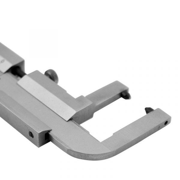 Skydelære 0-60 X 0,1 mm til bremseskiver