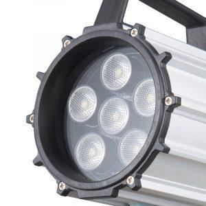 LED Maskinlys 9,5W IP65 Kort Arm