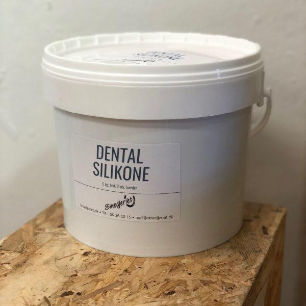 Dental silikone 5 kg, inkl hærder
